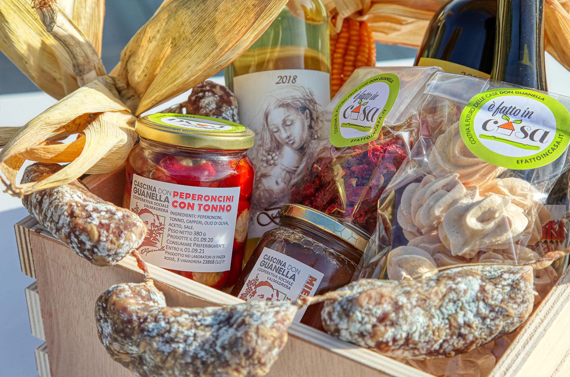 I prodotti della Cascina Don Guanella